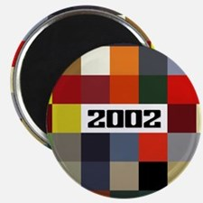 Classic BMW 2002 Paint Colors Magnet