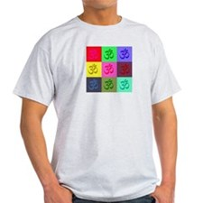 Om Ash Grey T-Shirt
