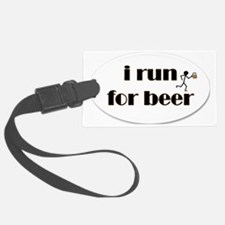 i run for beer Luggage Tag