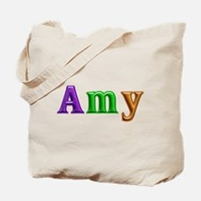 Amy Shiny Colors Tote Bag