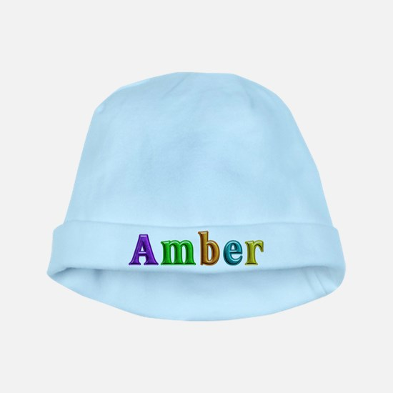 Amber Shiny Colors baby hat