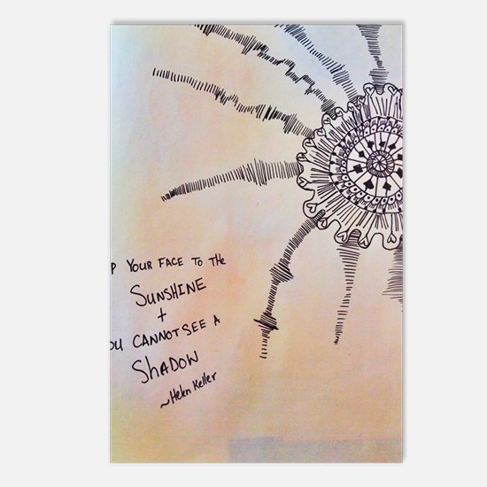 Sunshine Postcards (Package of 8)