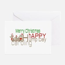 Happy Hump Day Caroling Greeting Cards