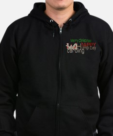Happy Hump Day Caroling Zip Hoodie