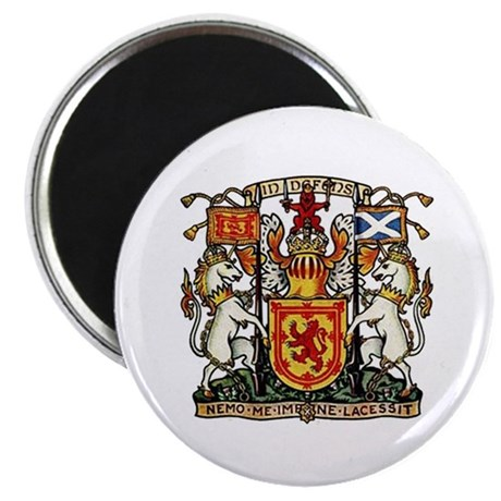 "SCOTLAND COAT OF ARMS 2.25"" Magnet (10 pack)"