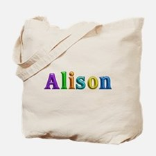 Alison Shiny Colors Tote Bag