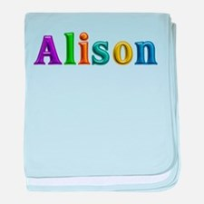 Alison Shiny Colors baby blanket