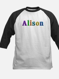 Alison Shiny Colors Baseball Jersey