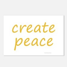 create peace Postcards (Package of 8)