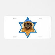 Hanukkah Star of David - Peke Aluminum License Pla