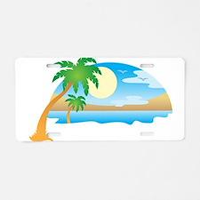 Summer - Vacation Aluminum License Plate