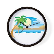 Summer - Vacation Wall Clock