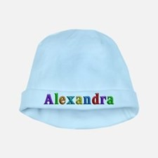 Alexandra Shiny Colors baby hat