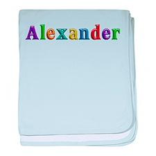 Alexander Shiny Colors baby blanket