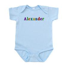 Alexander Shiny Colors Body Suit