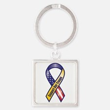 Support Our Troops - Ribbon Keychains