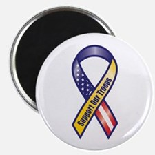 Support Our Troops - Ribbon Magnets