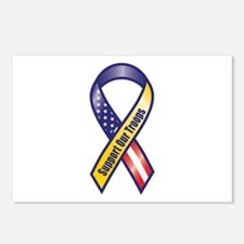 Support Our Troops - Ribbon Postcards (Package of