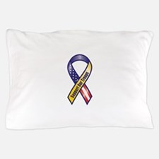Support Our Troops - Ribbon Pillow Case