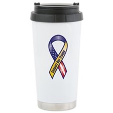 Support Our Troops - Ribbon Travel Mug