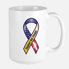 Support Our Troops - Ribbon Mugs