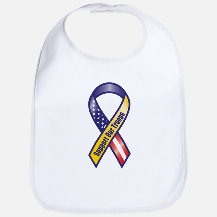 Support Our Troops - Ribbon Bib