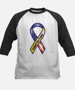 Support Our Troops - Ribbon Baseball Jersey
