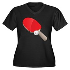 Table Tennis - Ping Pong Plus Size T-Shirt
