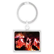 Firesparks Landscape Keychain
