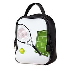 Tennis - Sport Neoprene Lunch Bag