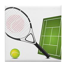 Tennis - Sport Tile Coaster