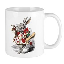 White Rabbit Mug (authentic colors on white)