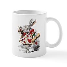 White Rabbit Mug (authentic colors on white)