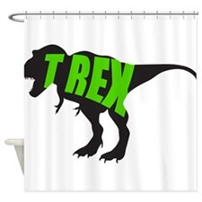 T-Rex - Dinosaur Shower Curtain