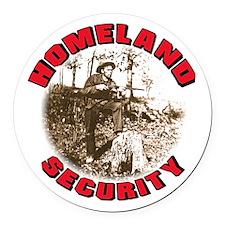 Homeland Security #3.png Round Car Magnet