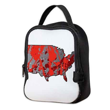 USA - United States Neoprene Lunch Bag