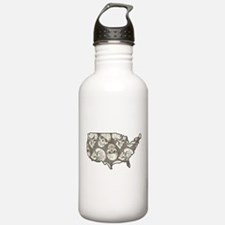 USA - United States Water Bottle