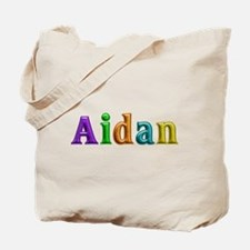Aidan Shiny Colors Tote Bag