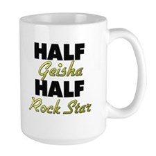 Half Geisha Half Rock Star Mugs