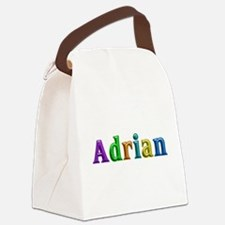 Adrian Shiny Colors Canvas Lunch Bag