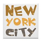 New York City Tile Coaster