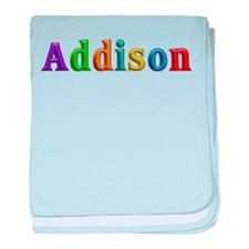 Addison Shiny Colors baby blanket