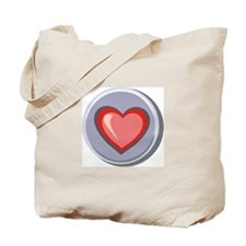 Pastel Heart Tote Bag