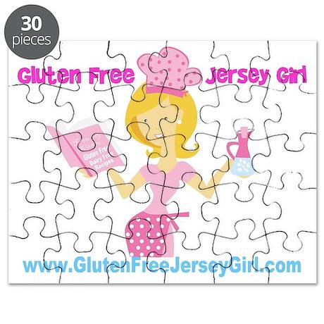 gluten free logo Puzzle