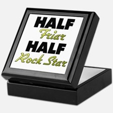 Half Friar Half Rock Star Keepsake Box