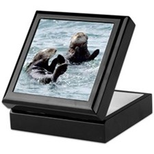 Two by Two Otters Keepsake Box