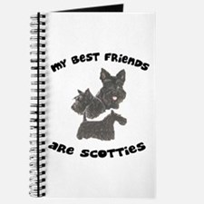 MY BEST FRIENDS ARE SCOTTIES Journal