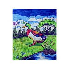 Quack Throw Blanket