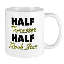 Half Forester Half Rock Star Mugs