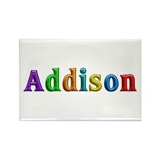 Addison Shiny Colors Rectangle Magnet